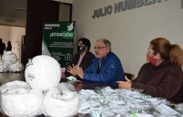 La Liga Salteña de Fútbol reabre sus puertas tras la sanitización