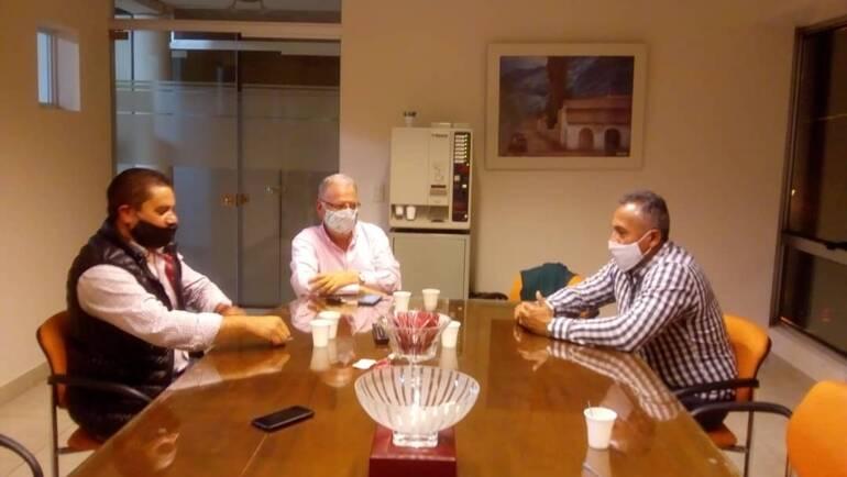Sergio Chibán se reunió con autoridades del municipio