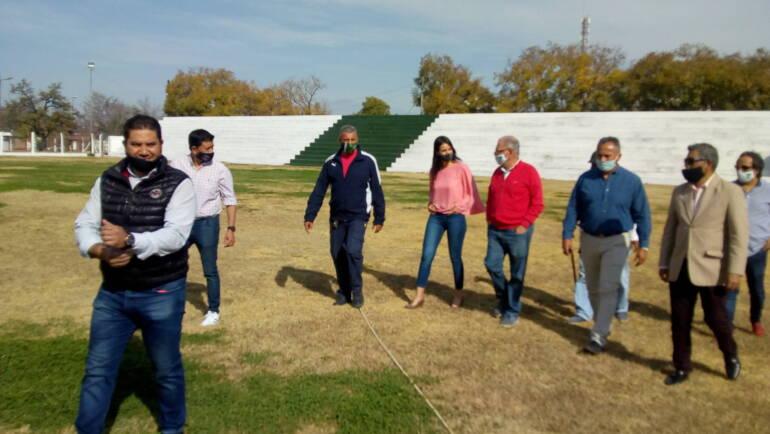 Sergio Chiban visitó las instalaciones del Nicolás Vitale