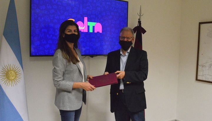 La Liga Salteña de Fútbol firmó un convenio con la Municipalidad para recibir cooperación y colaboración