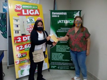 Bingo de la Liga Salteña de Fútbol: entrega de premios de dinero en efectivo