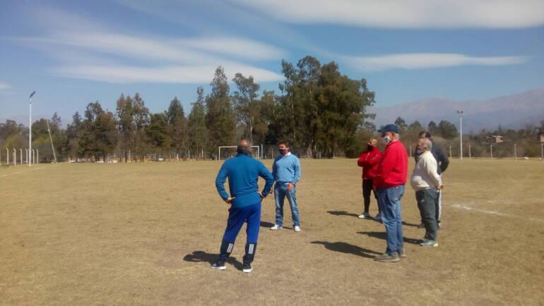 El Presidente Lic. Sergio Chibán visitó el club San Miguel