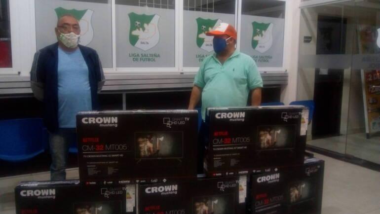 La Liga Salteña de Fútbol realizó donaciones a los hospitales del norte provincial