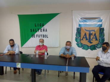 La Liga Salteña de Fútbol entregó materiales y luminarias al club San Martín