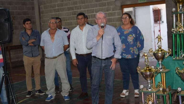 Adolfo Resina le dijo adiós a la Liga Salteña de Fútbol